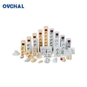 OUCHI Wholesale Universal Power Electrical Plug Extension Multiple Socket