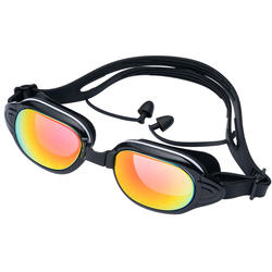Supplier Customized Unique Waterproof Swim Goggles for Swimming with UV Protection Model MC299