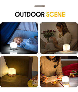 Warm and White Light Eye-protecting Usb Port Charging Desk Lamp Table Light For Reading/Sleep