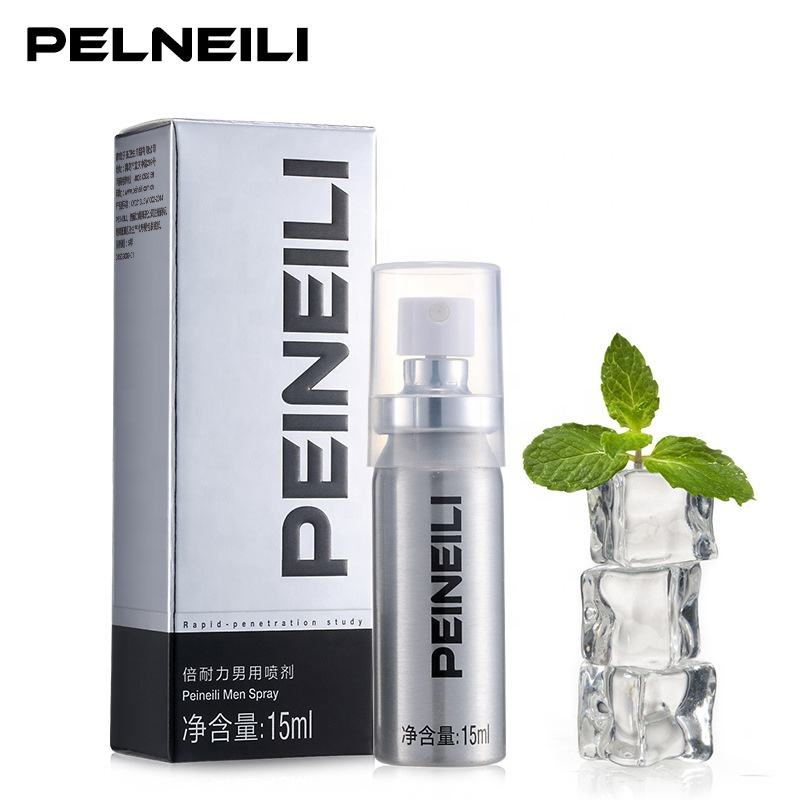 Hot selling 15ml Peineili long time sex delay spray for Men