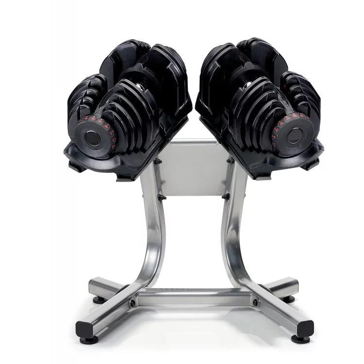 90 52 pounds adjustable dumbbell for indoor use
