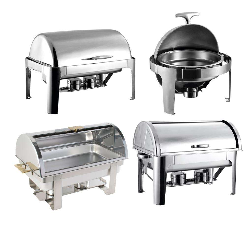 New Design Delux Roll Top Chafing Dish for sale