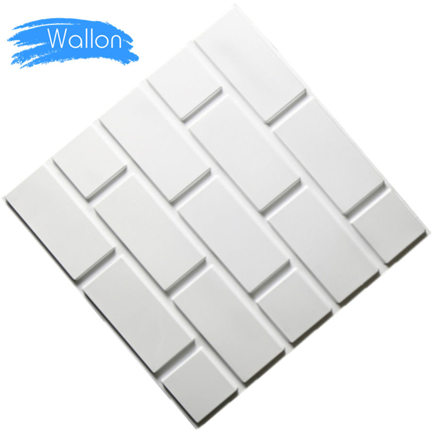 Factory Supply Embossed Interior Decorative Wall 3D Panel Interior Decor
