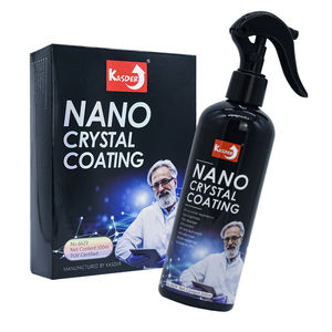 Premium anti scratch nano auto automotive keramik beschichtung spray mit schwamm