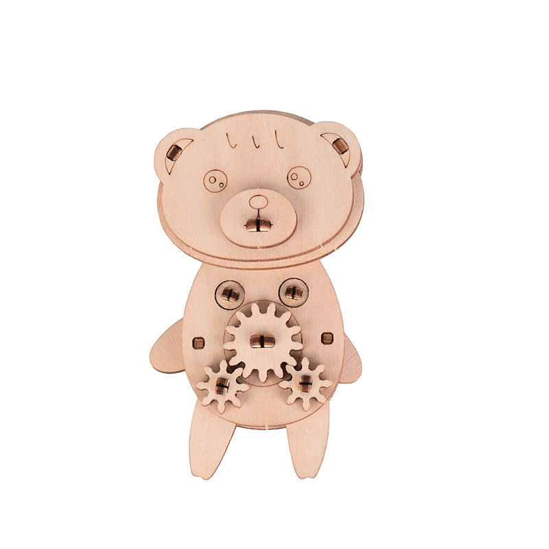 Wholesale Educational Play Toy Kids Wooden Animal Jigsaw Puzzle