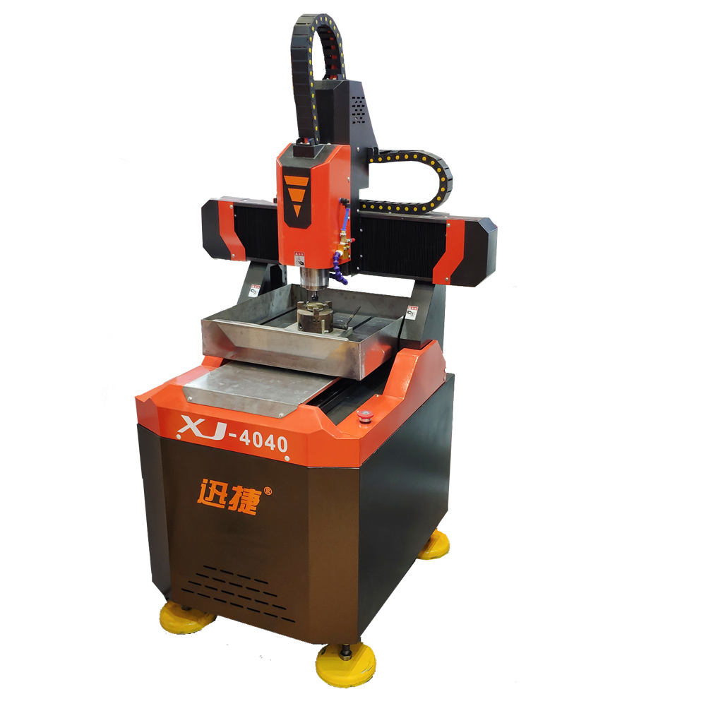 Metal milling and engraving machine 6060 4040 mould cnc router from Jinan