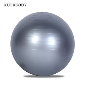 Fitness Equipment Anti Burst Wholesale OEM Customized Logo PVC Workout Pilates Yoga Ball For Yoga Training