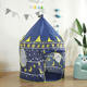 Castle Tent Houses Kids Tent High Quality Polyester Fabric Girls Boys Castle House Teepe Tent Kid Play Tent