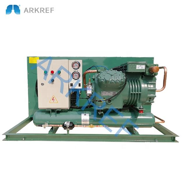 Frascold compressor cold room air cooled refrigeration condensing unit with remote control