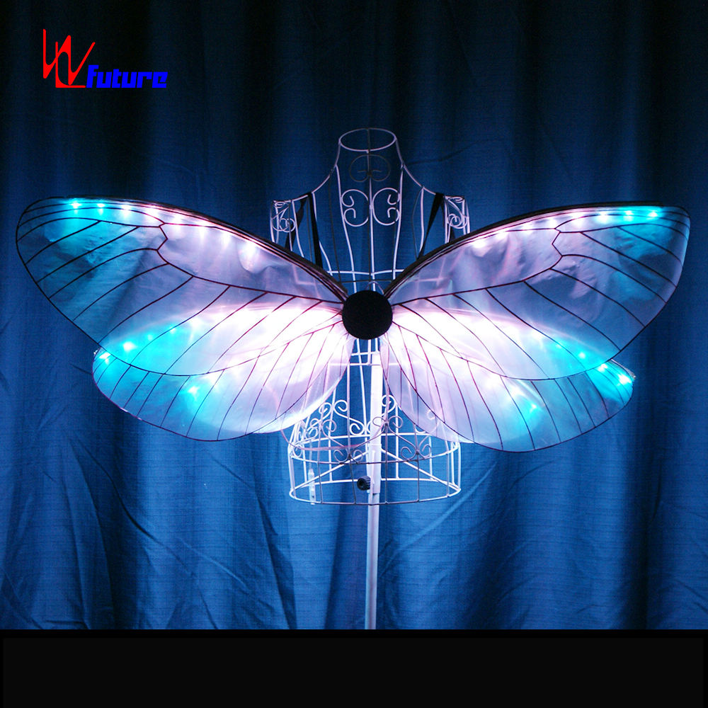Led Glow dragonfly wings show activity butterfly costume LED Isis Wings LED Dance Props performance wear