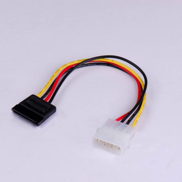 PC Molex IDE to Serial ATA Power Adapter Cable Converter Cable