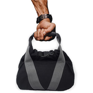 Adjustable Heavy Duty Portable Unisex Yoga Gym Training Kettlebell Weightlifting Dumbbell Soft Sandbag with Soft Rubber Handle
