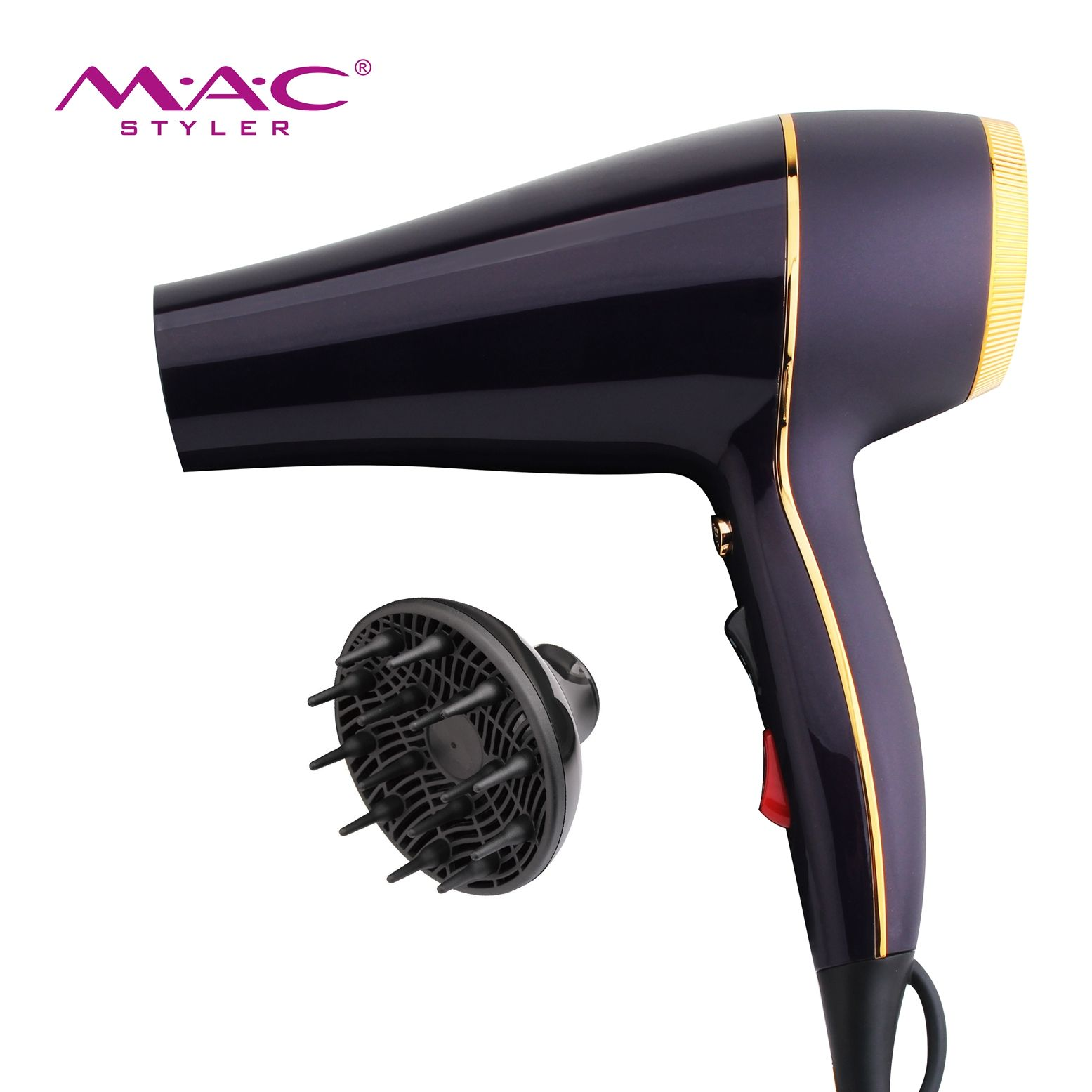 2000W Professional High Power Hair Dryer CB-N2600 CHAOBA With Over Heating Protection