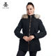 Customize puffer Windproof women's fall Parka fur jacket Winter