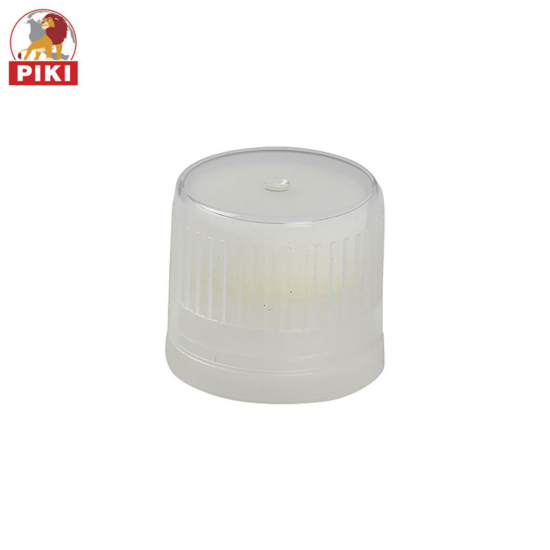Factory supplier laminated plastic shoe polish tube cap sponge applicator creamy tube cap