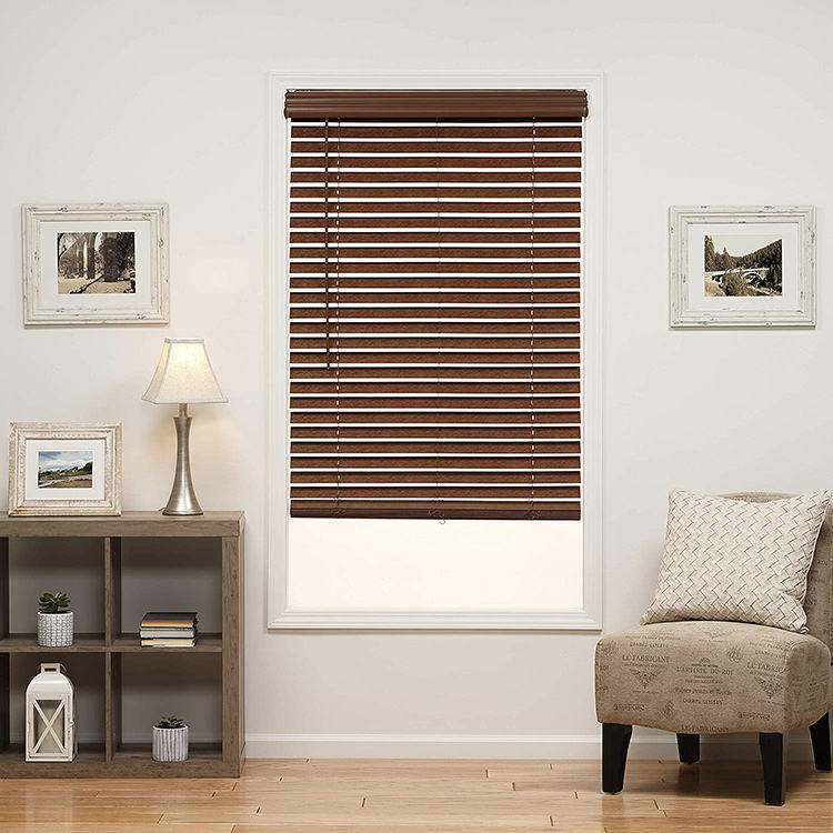 factory price custom indoor waterproof basswood wood venetian blinds roller shades for windows