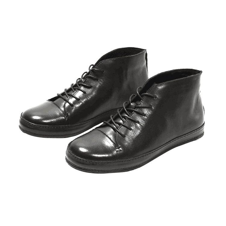 工場生産高品質ブーツ快適な本革ブーツ男性