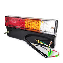 20LED 12V 24V Truck LED Lights Forklift Tractor ATV Trailer Tail Light Lamp Truck Taillight Reversing Running Brake Turn Lights