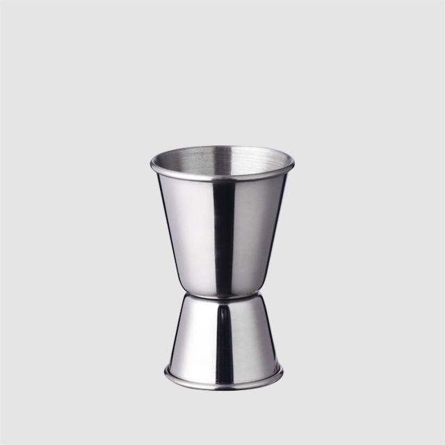 Factory Direct wholesale mini 15ml 30ml silver stainless steel barware wine jigger