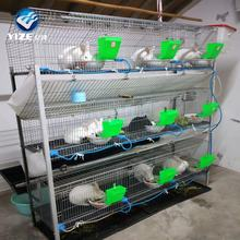China factory wholesale professional rabbit intensive farm cage with accessories