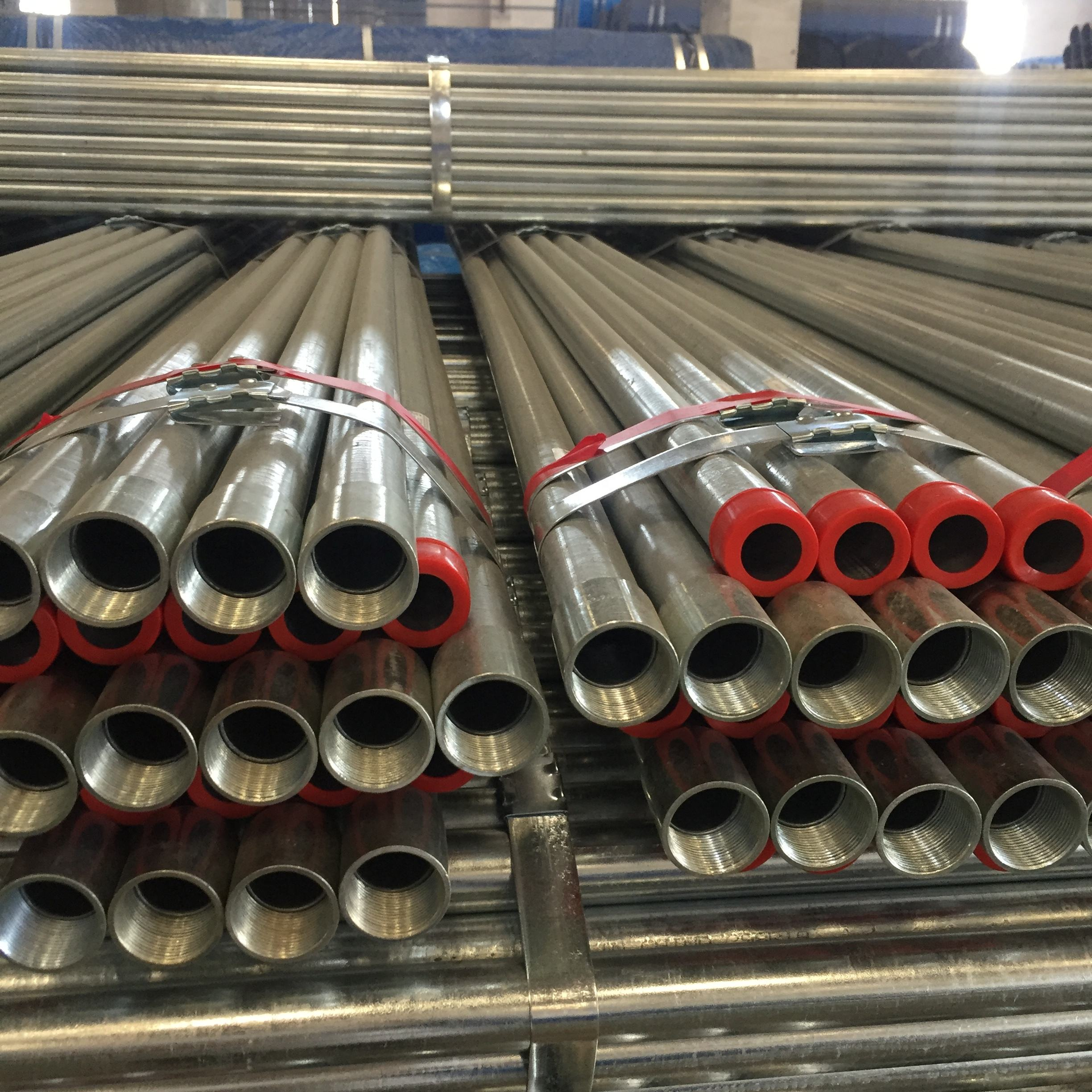 IMC conduit hot galvanized rigid steel pipe lower life-cycle cost ERW tubing with ANSI C80.6 standard UL1242