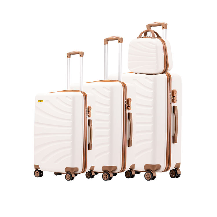 Hot Selling Universal Wheel ABS Luggage Sky Travel Luggage Bag