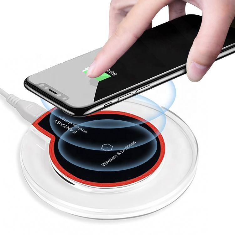 K123 Universal Wireless Charger untuk Iphone Samsung Fast Charger Qi 5W OEM Ponsel Cepat Fantasy Wireless Charger Pad