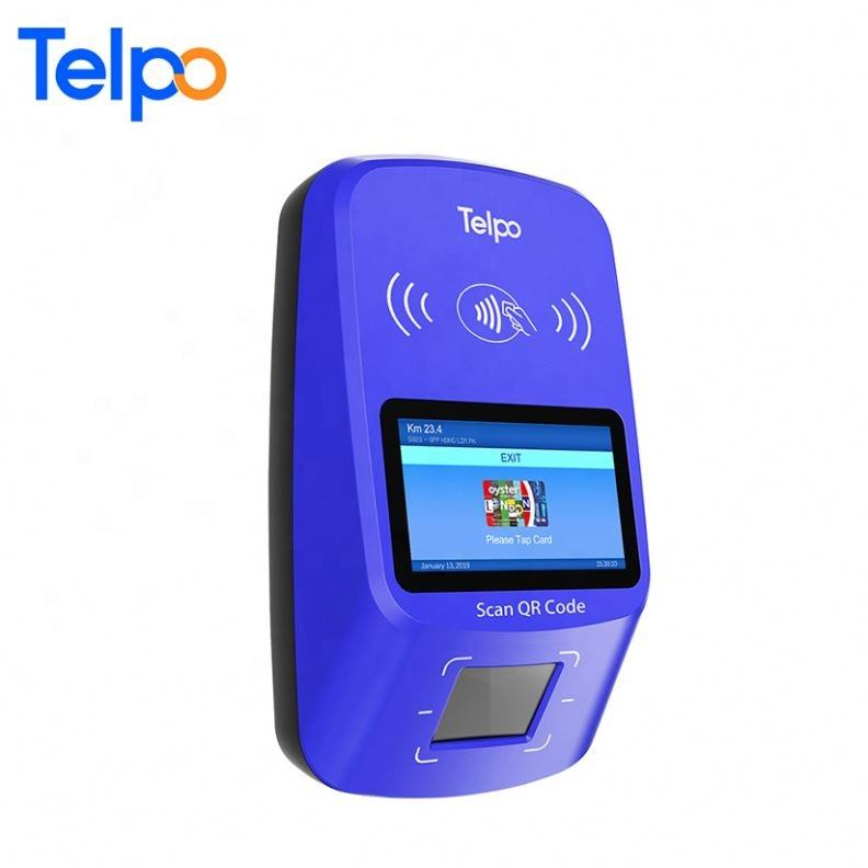 Wechat/Alipay Payment Ticket Ticketing Devices Bus Card Validator With Id Information Reading