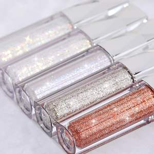 2019 New Arrival Non Toxicn Cosmetic Shine Liquid Eyeshadow Private Label Cosmetics Eye Make Up Liquid Glitter Eyeshadow