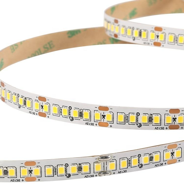 Professional factory IP20 1200lm/m 192leds/m DC 12V 24V SMD 2835 led light strip