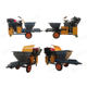 Diesel Engine Plastering Machine Cement / Mortar / Putty / Gypsum Spraying Machine