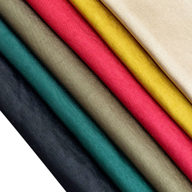 100% poly acetate silk material satin plain dyed woven fabric for T-shirt