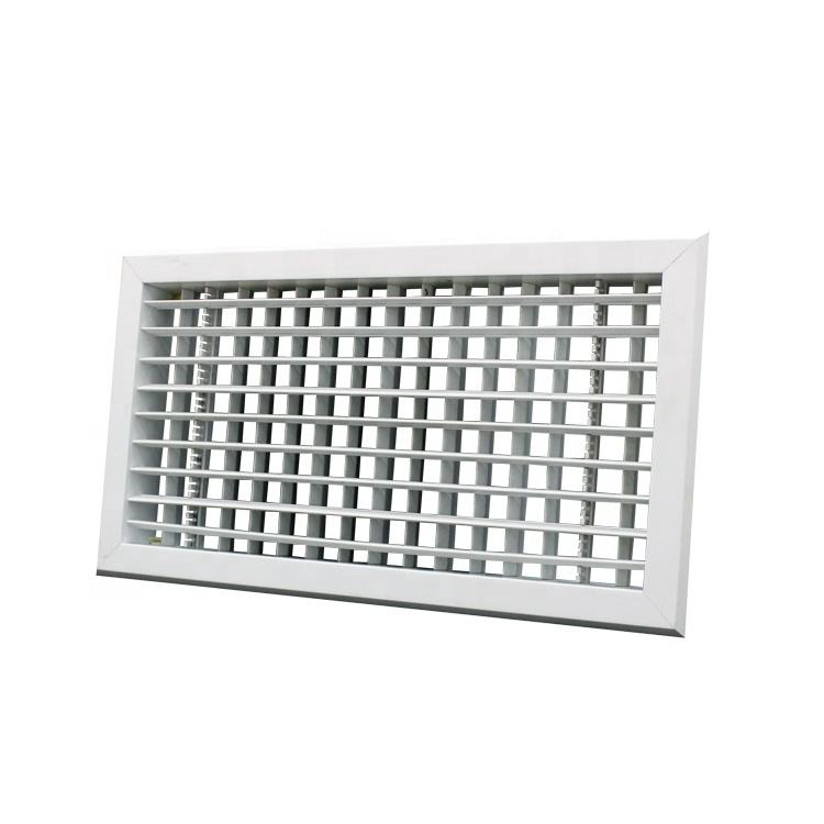 PVC square air ceiling diffuser for ventilation