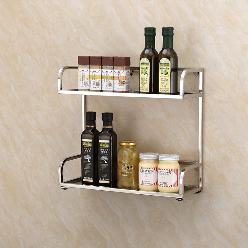 Contemporary Style Wall Hung Kitchen Dish Drying Rack Storage Holder Rack Spice Rack