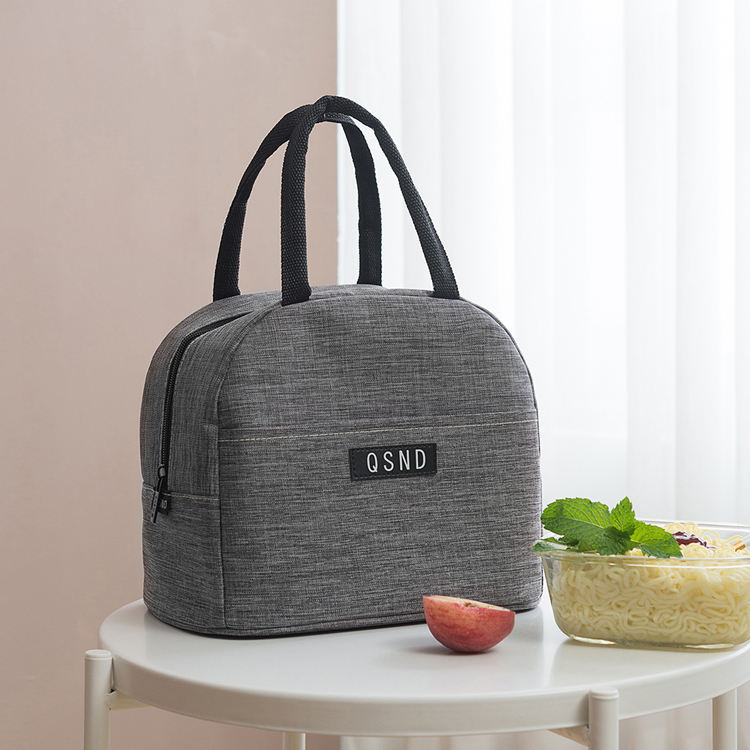 New Trendy High Quality Oxford Waterproof Adult Lunch Bag Cooler Tote Bag with Handle Strap