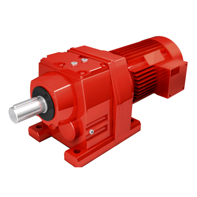 220V 0.55kw bevel reductor gearbox R37 helical reducer geared motors