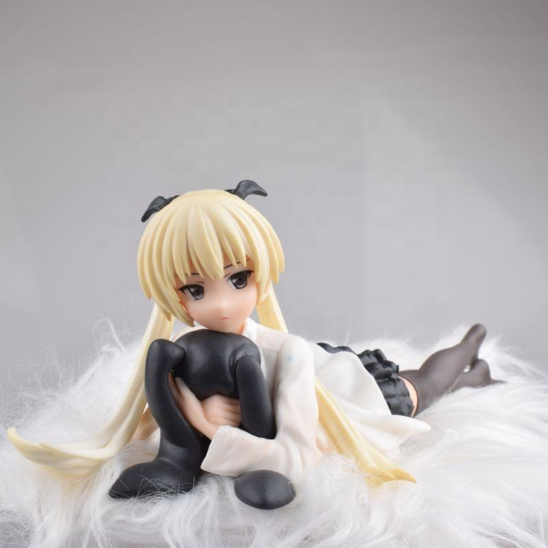 Yosuga keine Sora Kasugano Sora PVC Action Figure Toys Lying auf die plüsch decke Sexy Girl Model Toys Collection Doll Gift