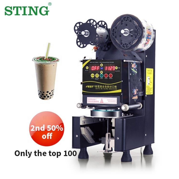 Volautomatische Mini Commerciële Melk Sap <span class=keywords><strong>Thee</strong></span> <span class=keywords><strong>Afdichting</strong></span> Cup Machine Bubble Boba <span class=keywords><strong>Thee</strong></span> Voor Cups