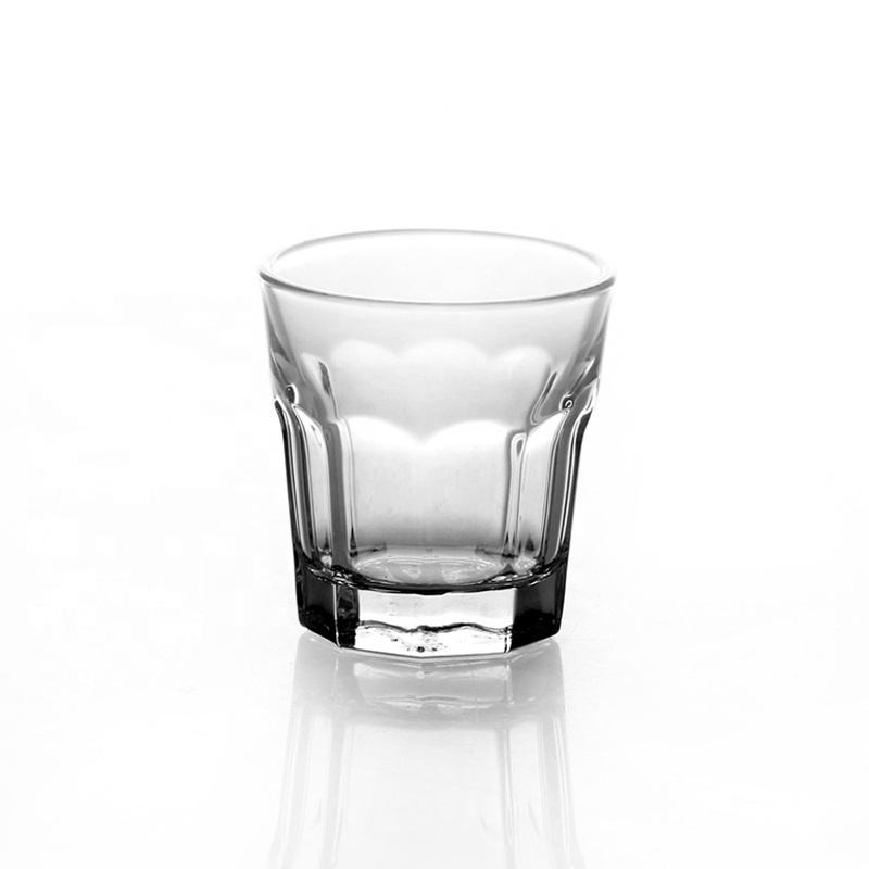 Old fashion clear mini glass cup vodka cup johnnie walker whisky shot glass