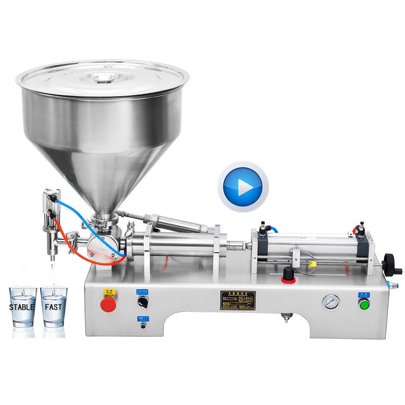 Bespacker factory price high accuracy viscous lotion bottle cosmetic filler water filling machine for paste liquid
