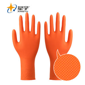 nitrile disposable mechanic glove mechanic working protective gloves oil resistance work gloves