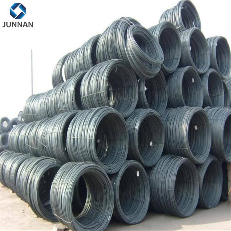 SAE1008 Hot Rolled Wire Rod 5.5 Karbon Rendah Wire Rod Coil