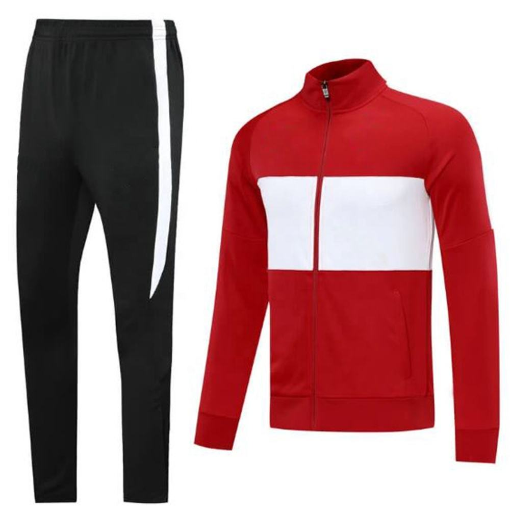 track suit for jogging new design for men black pant red jacket its quality products