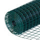 PVC coated welded wire fence/welded iron rabbit wire mesh rolls