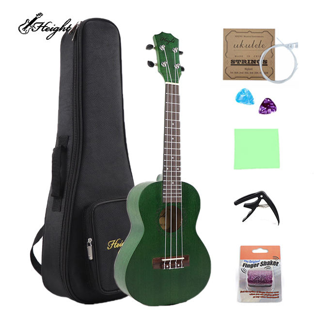 New Okoume Wood Cool Colorful Toy Concert Ukulele Guitar For Sale