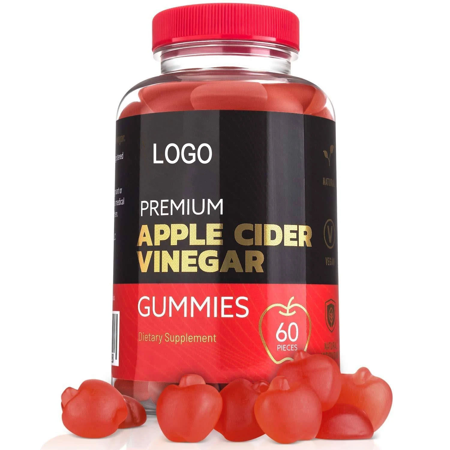 Slimming Herbal Supplements Apple Cider Vinegar Gummies Weight Loss Gummies