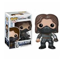 FUNKO POP Steve Rogers Super Hero WINTER SOLDIER Vinyl Cute Figure Model Doll Toys collection wholesale
