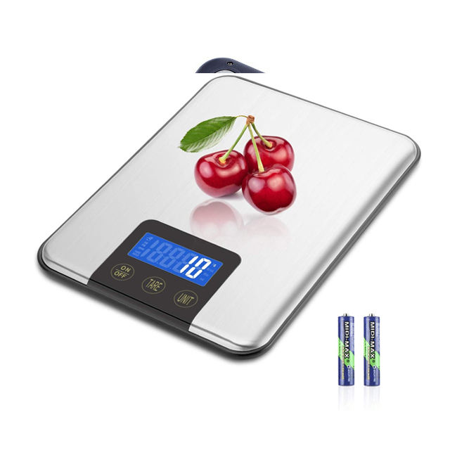 33lbs 15kgs Max Digital Kitchen Scale, Accurate Multifunction Food Weight Scale Grams Ounces