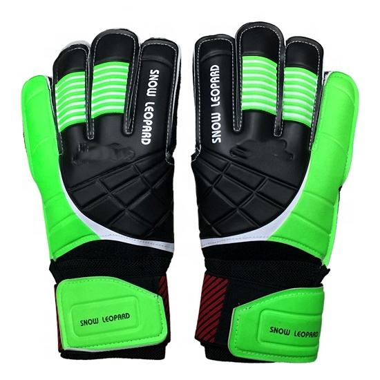 2020 good quality high-quality beautiful custom logo anti-slip PVC football soccer ball goalkeeper gloves for adults for outdoor