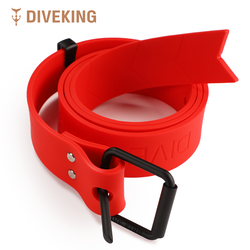 Strong rubber diving weight belt Underwater sport rubber belt with soft and Easy to dismantle